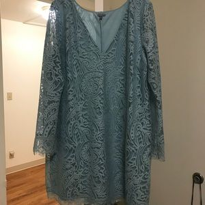 Charlotte Russe v neck lace dress XL